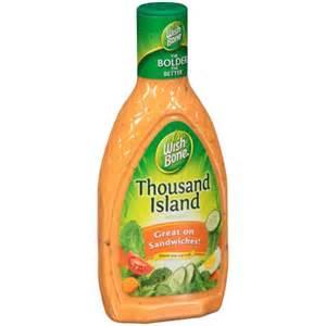 wish bone 174 thousand island dressing 16 fl oz bottle