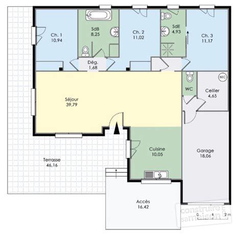 Plan De Maison Design by Villa D 233 Du Plan De Villa Faire Construire