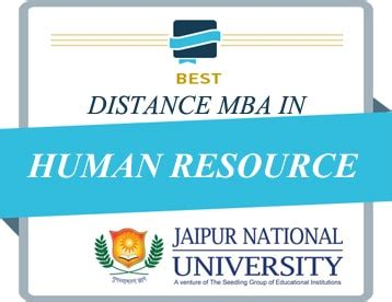 Mba In Hr Advantages by Jaipur National Distance Education Mba Studykey