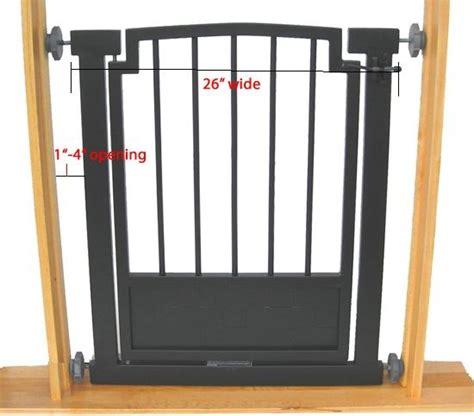 indoor gates indoor gate safety pet fence metal 32 quot h hallway or doorway pressure mount ebay
