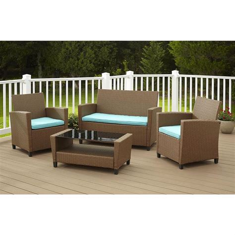 patio furniture sets clearance sale costco resin wicker