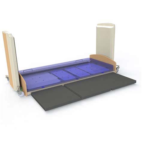 Fall Mattress by 4h300 Contego Floorline Bed 4 Healthcare