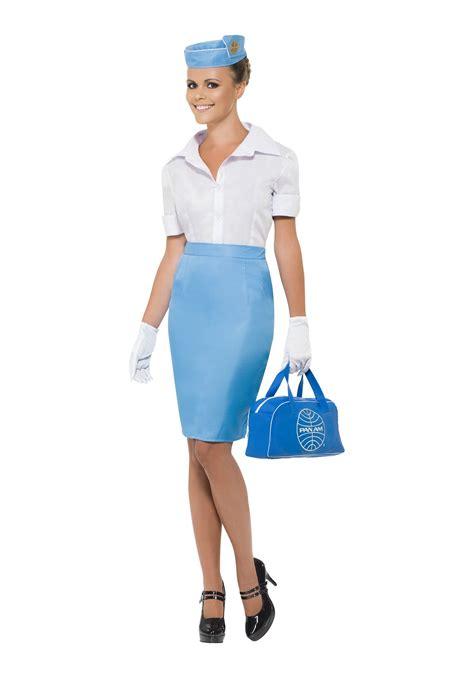 Flight Attendant Costume womens pan am flight attendant costume