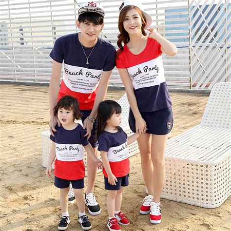 family clothes 131 best images about dad mom kid set short sleeve on