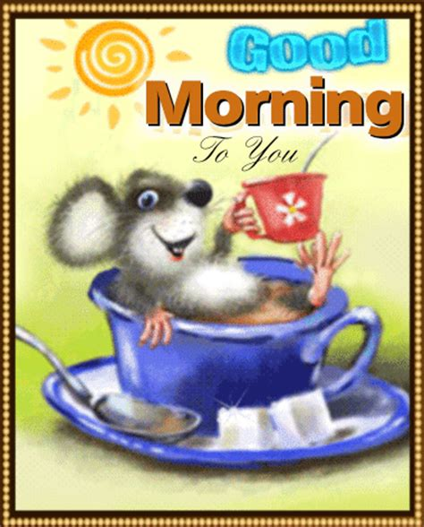 Free Morning Cards