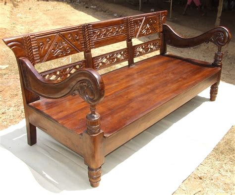 indonesian bench wood bench design with backrest woodworking projects plans
