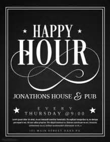2 490 Customizable Design Templates For Happy Hour Postermywall Free Happy Hour Invitation Template