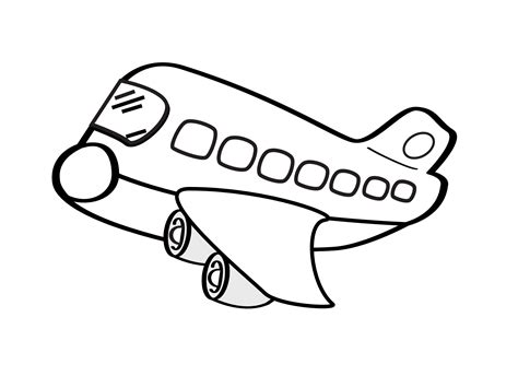 aereo clipart clip aereo civile airplane squiggly svg