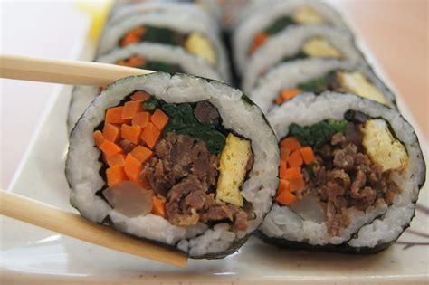 kimbap korea s sushi sandwich korea canada blog