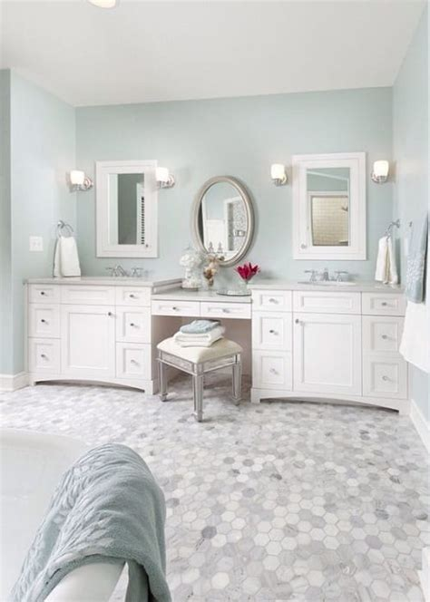 10 Stunning Gorgeous Bathroom Vanity With Makeup Bathroom Vanity With Makeup Station