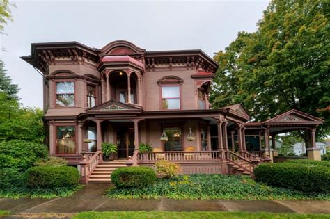 Old Victorian House Plans by Upstate New York Victorian