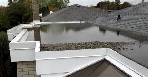 Flat Roof Slope So You A Flat Roof Future Proof Property Inspections