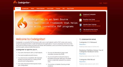 best framework in php all about top 5 php frameworks of 2012 a guide to