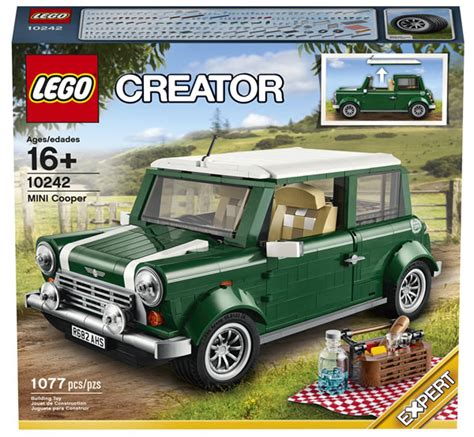 Lego 10242 Mini Cooper Hijau 10242 lego creator expert mini cooper mk vii hoth bricks
