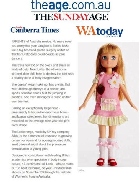 lottie dolls australia lottie dolls australia press coverage in the age