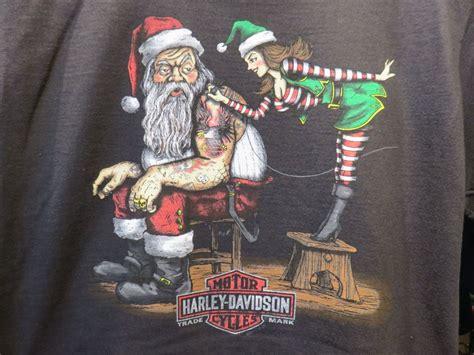 clares harley davidson christmas  shirt harley