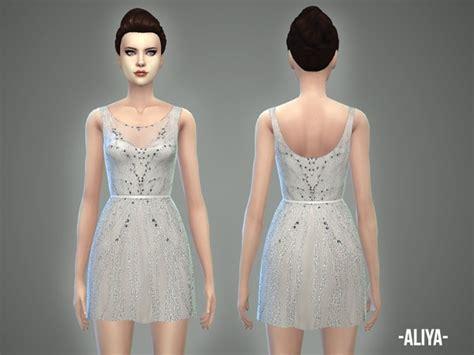 Dress Aliya aliya dress by april at tsr 187 sims 4 updates