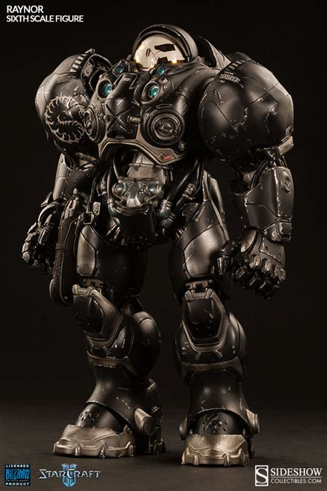 Figure Heroes Of The Starcraft production photos starcraft ii raynor terran space marine sixth scale figure sideshow
