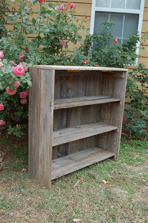 barn wood bookcase for the home bookcases