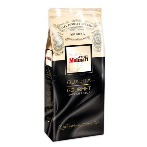 Caffe Molinari Riserva Gourment Italia caff 233 molinari qualit 224 gourmet 100 arabica espresso beans coffee