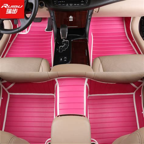 Pink Floor Mats For Cars by Popular Car Mats Pink Buy Cheap Car Mats Pink Lots From China Car Mats Pink Suppliers On