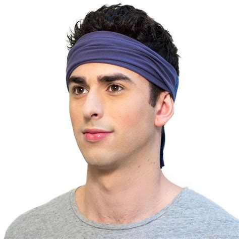mens hairstyles with skinny headbands mens headband style guide the feel good daily by kooshoo