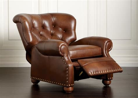Ethan Allen Recliner by Cromwell Leather Recliner Ethan Allen