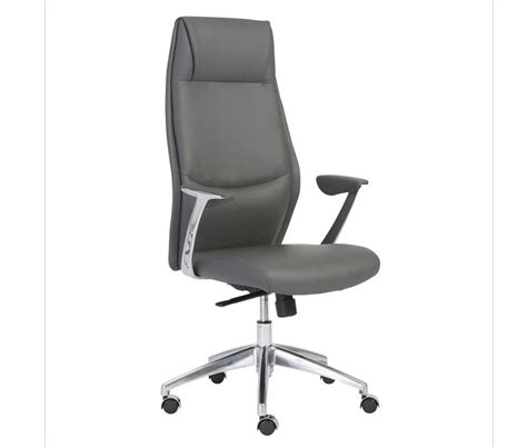 crosby high back grey office chair office chairs