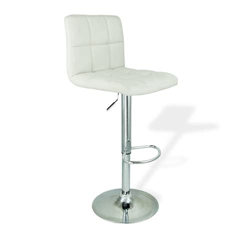 white leather swivel bar stools bar stools leather set of 2 white swivel bar pub