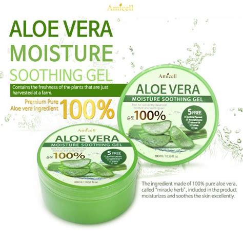Nature Republic Aloe Vera Soothing Gel Wholesale amicell aloe moisture soothing gel