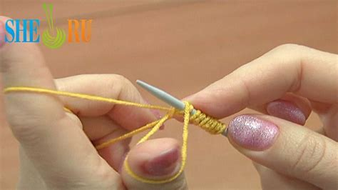 stretchy knitted cast on method pin by sheru knitting on knitting tutorials for beginners