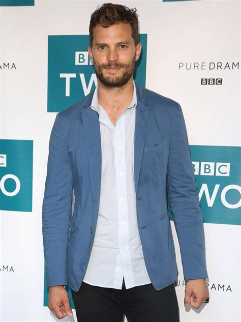 jamie dornan upcoming events gillian anderson flashes d 233 colletage in low cut jumpsuit