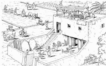 Which Civilization Made Their Buildings Out Of White Granite - ancient houses domiciles from pharaohs to