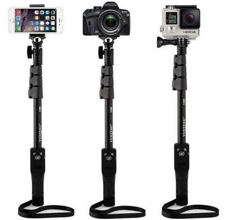 Monopod Gopro Original original selfie stick yunteng 1288 portable extendable monopod for gopro sjcam dslr phone id