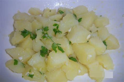 come si cucinano le patate lesse patate prezzemolate vegan ricette vegan vegane
