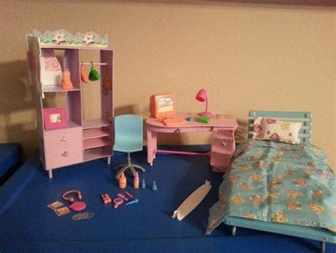barbie bedroom furniture 25 best ideas about barbie bedroom set on pinterest