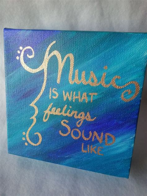 acrylic paint quotes 6x6 inch acrylic painting with metalic gold quote