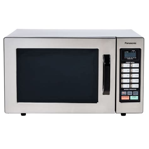 Daftar Microwave Oven Panasonic panasonic ne 1054f stainless steel commercial microwave