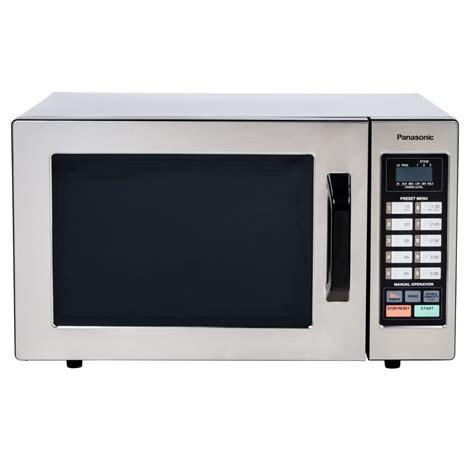 Microwave Panasonic panasonic ne 1054f stainless steel commercial microwave