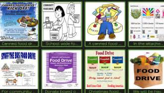 can food drive flyer template 5 canned food drive flyer templates af templates