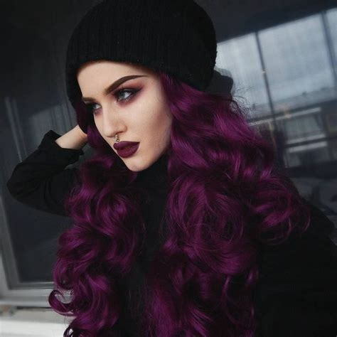 25 best ideas about purple hair on plum
