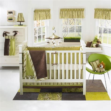Green And Brown Monkey Crib Bedding Room Designs Refreshing Green Banana Fish Moda Baby Crib Bedding Set Baby Boy Room Baby
