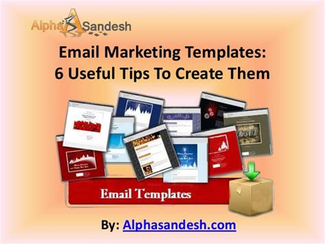 how to create email marketing templates email marketing templates 6 useful tips to create them