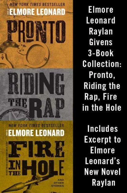 elmore leonard best book elmore leonard raylan givens 3 book collection pronto