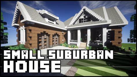 suburban minecraft house minecraft small suburban house youtube