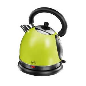 Lime Green Kettle And Toaster Brennands Swan Traditional Lime Green Kettle