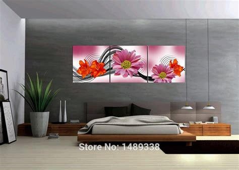 large modern wall large modern wall 3 panels abstract painting home