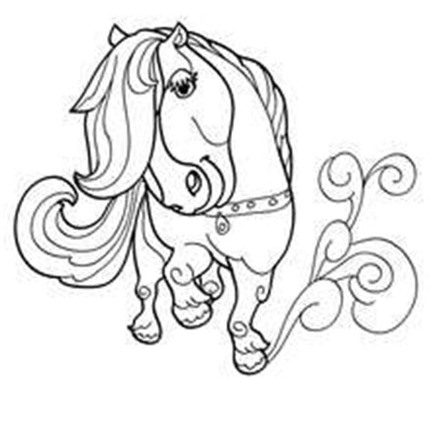 hello pony coloring pages cute pony coloring pages hellokids com