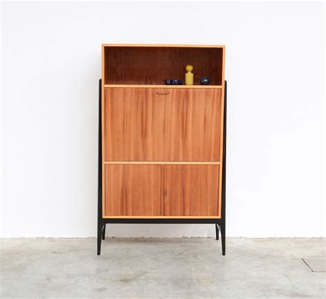 Retro Bar Cabinet Vintage High Bar Cabinet By Alfred Hendrickx For Belform For Sale At Pamono