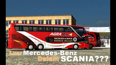 mod game ets2 rasa indonesia ets2 mod bus indonesia agra mas sdd mercedes benz rasa